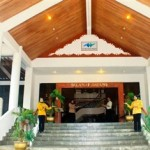 Entrance De Rhu Beach Resort